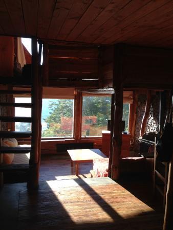 El Mirador - Refugio de Montana : Interior de la cabaña