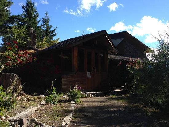 El Mirador - Refugio de Montana : Entrada a las cabañas