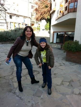 Soft Bariloche Hotel: Na porta do hotel