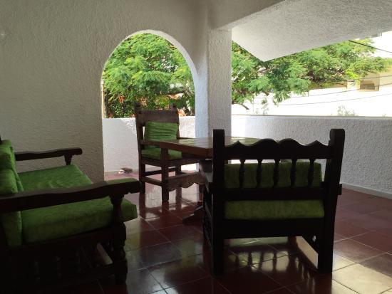 Carrillo's Hotel: Relax area