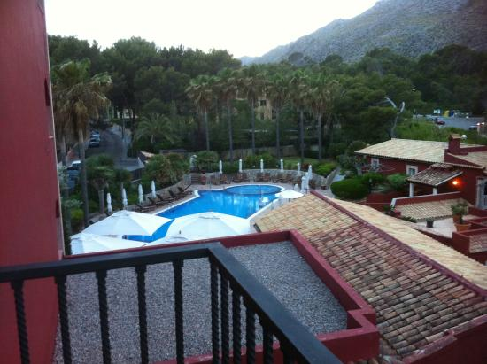 Hotel Cala Sant Vicenc: Vista desde la terasa