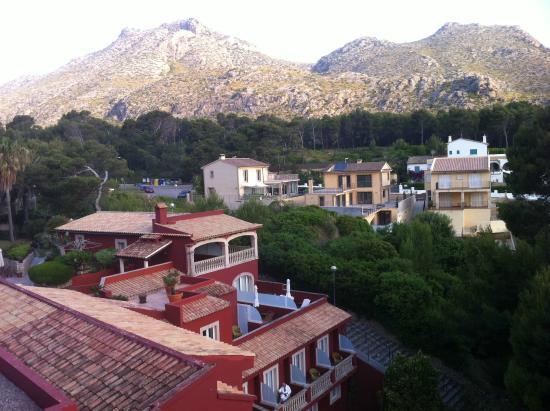 Hotel Cala Sant Vicenc: Vista del hotel