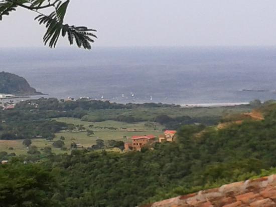 Chica Brava Surf Retreat: View from Cloud Farm