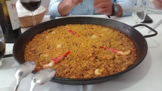 Restaurante El Rincon Gallego II: arroz senioret