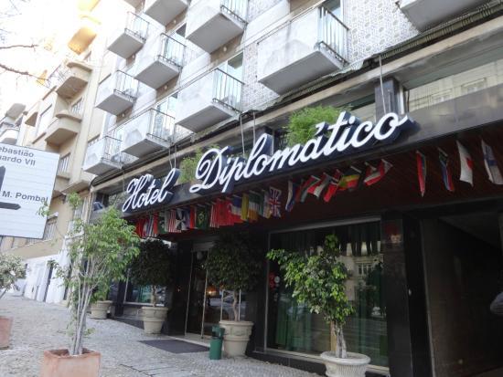 VIP Executive Diplomático Hotel : Fachada do hotel