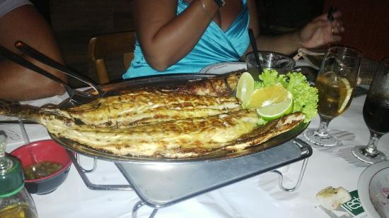 Restaurante Zanoni: Anchova Grelhada