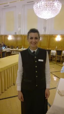 Hotel Oswald: Хорошая девушка Сандра.Еще есть хороший парень Даниэл, которого не успел сфотографировать, и еще
