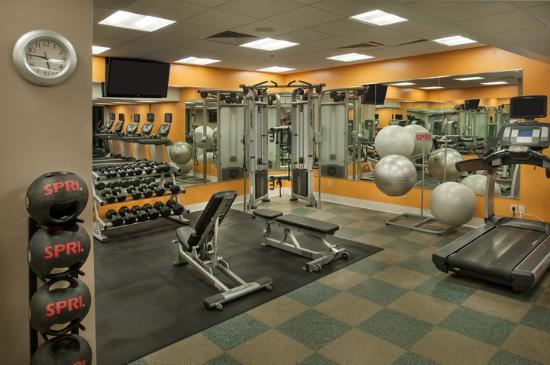Marriott St. Louis Airport: fitness center