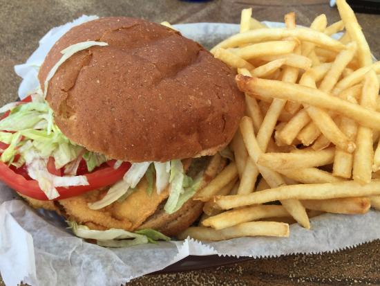 Pete's Time Out: Chicken Sandwich