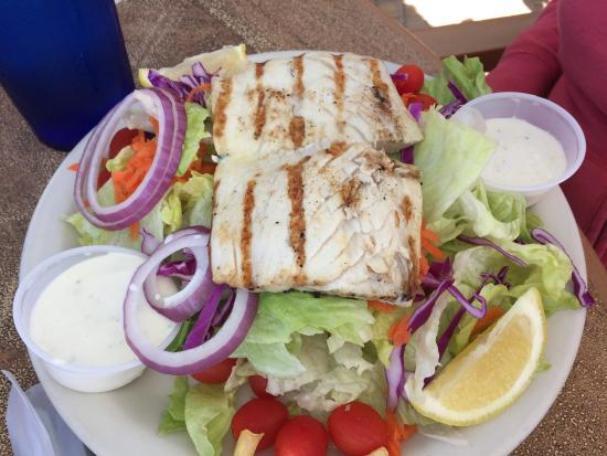 Pete's Time Out: Grouper Salad