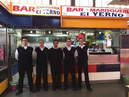 Bar Cafeteria El Yerno: Bar Marisqueria El Yerno