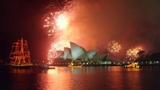 Wildfire Restaurant Sydney: Sydney - Austrália - New Year- Wildfire Restaurant