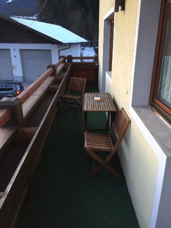 Bergview Haus: Balkon
