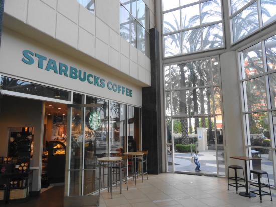 Starbucks picture of hyatt regency orange county garden - Hyatt regency orange county garden grove ca ...