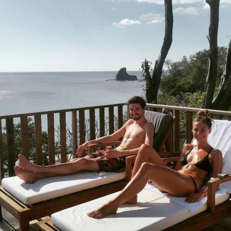 Villas Playa Madera: Villa #4 deck