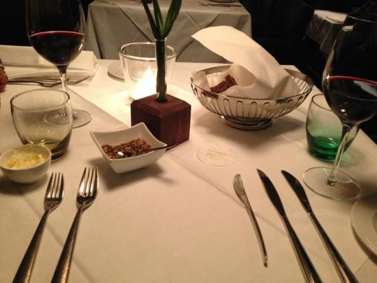 Restaurant SCHLOSSBERG: setting