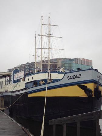 Hotelschip Gandalf: Boatel Gandalf - Amsterdam