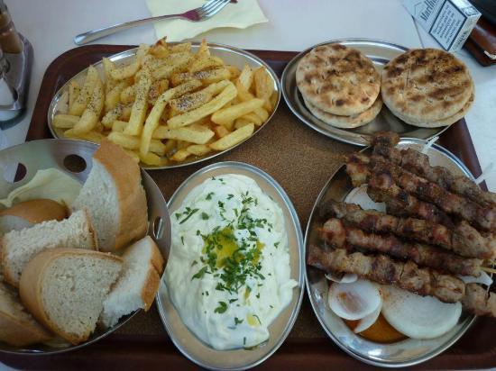 Restaurant  Delphi: Fleiß  aus den  Lava grill