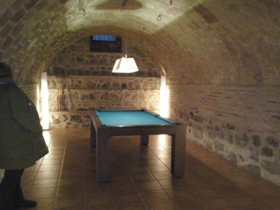 Casa de los Mozarabes: Sala billar