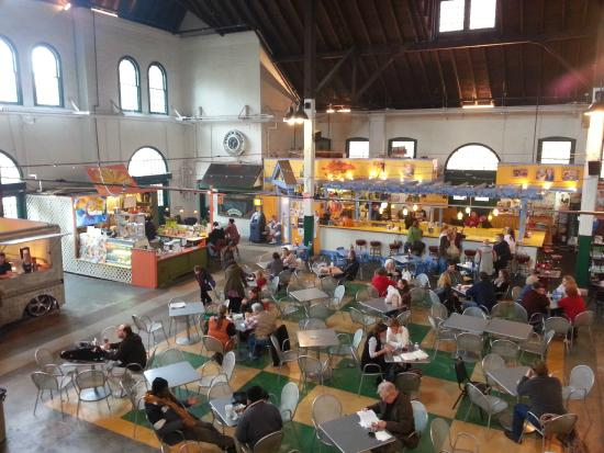 York Central Market House: View from the balcony