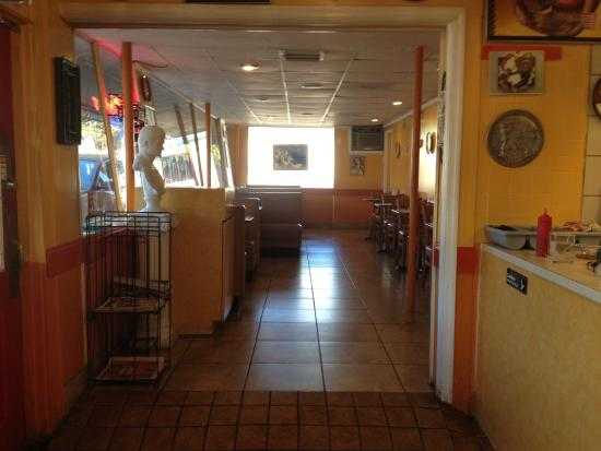 Athenian's Famous Gyros: Dining Room