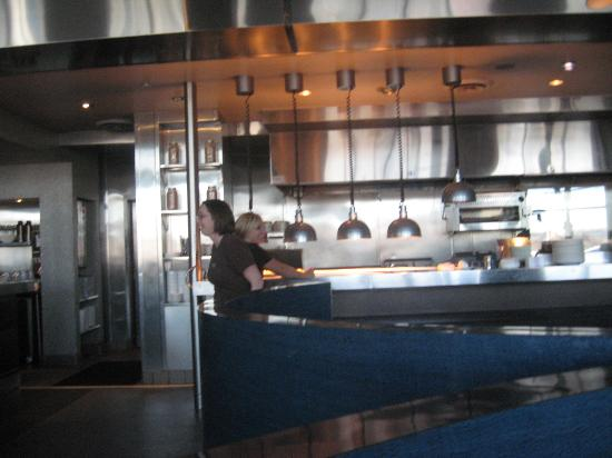 Serving counter and kitchen - Picture of The Blue Plate, Chattanooga ...