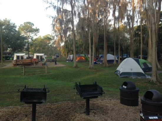 Grills At Campsite Picture Of The Campsites At Disney 39 S