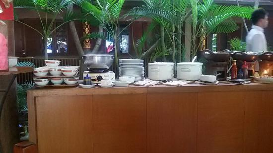 Nyiur Indah Beach Hotel: The breakfast