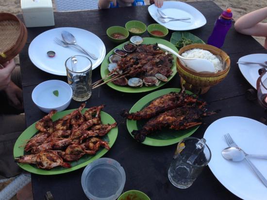 Pandan Sari Cafe : Dinner