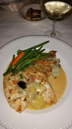Bay Cafe's grouper special -- delightful!