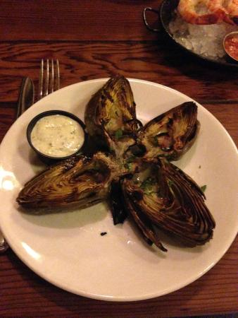 Pismo's Coastal Grill: grilled asparagus