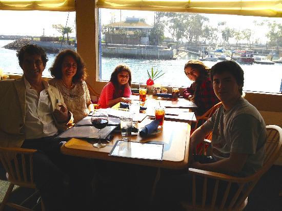 Wind & Sea Restaurant: Window table