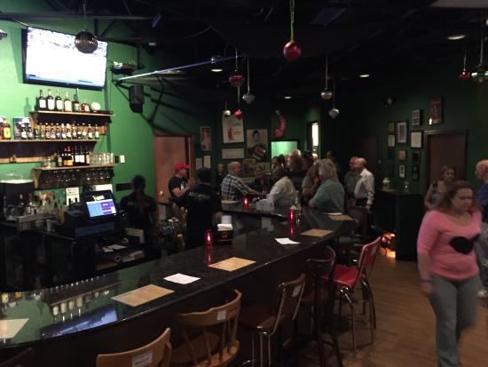 McCurdy's Comedy Theatre: The Green Room lounge, bar and eatery.