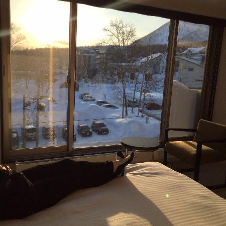 Shiki Niseko : View from bed!
