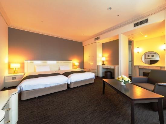 Nest Hotel Sapporo Odori: ラグジュアリーツイン◆Wien◆【広さ38平米、ベッド幅110センチ、Wi-Fi接続無料、DHCアメニティ】