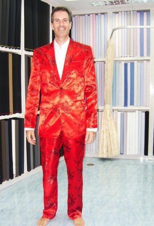 Bophut, Tailandia: Funny suit
