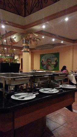 Princess Hotel & Casino Free Zone: Full buffet breakfast