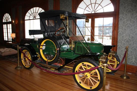 Stanley Steamer Car >> The Stanley Steamer In Hotel Picture Of Stanley Steam Car Museum