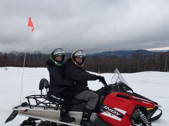 Snowmobile Vermont at Killington: December 2014