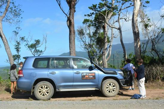D'Arcy of Daintree 4WD Tours: On our half day tour with D'arcy of Daintree.