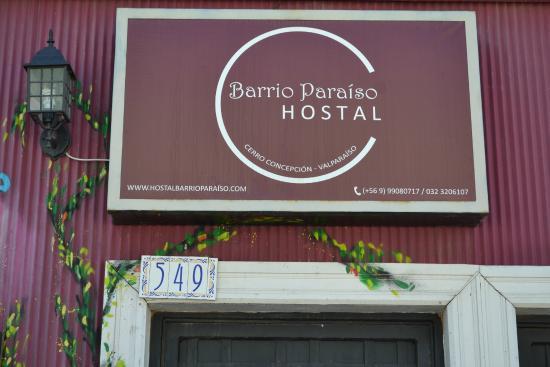 Hostal Barrio Paraiso: Entrada.