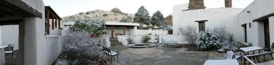 Indian Lodge : Courtyard
