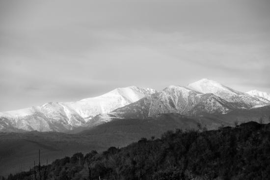 Le Ceretan Hotel : the Canigou mountain