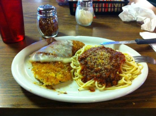 Crossroads Cafe: My dinner