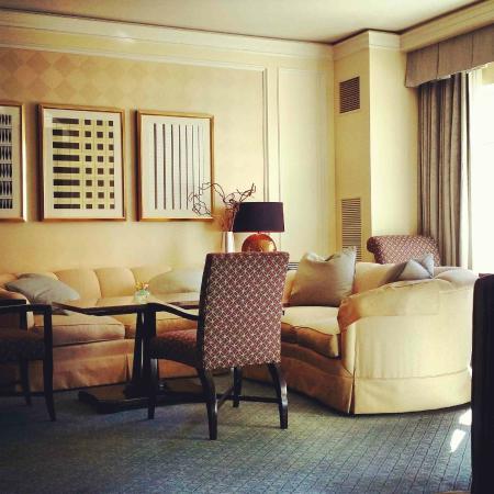 The Ritz-Carlton, Dallas: Club level lounge