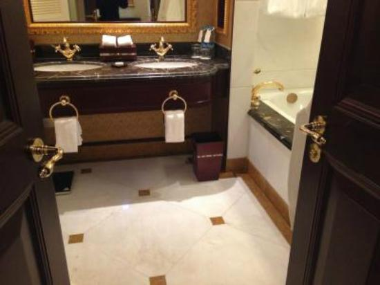 แกรนด์ เซ็นทรัล โฮเต็ล เซี่ยงไฮ้: バスルーム