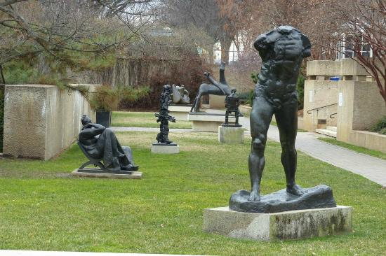 Crouching Woman By Auguste Rodin Picture Of Hirshhorn Museum And Sculpture Garden Washington