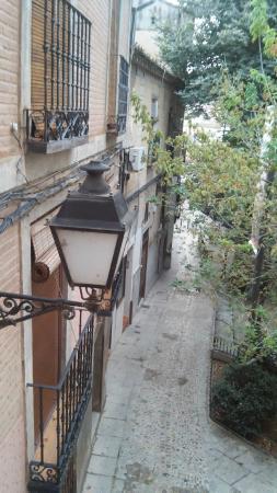 Hostal Infantes : Vstas desde la habitación del hotel