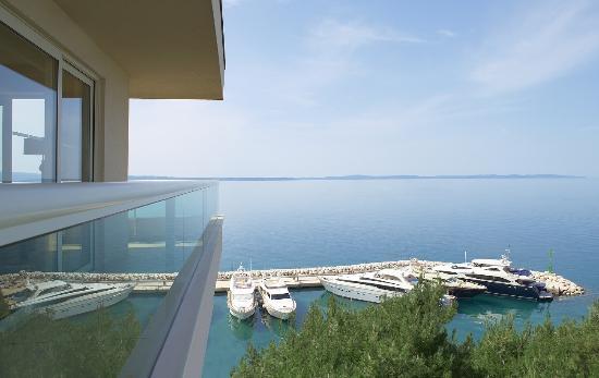 Le Meridien Lav Split: Balcony view