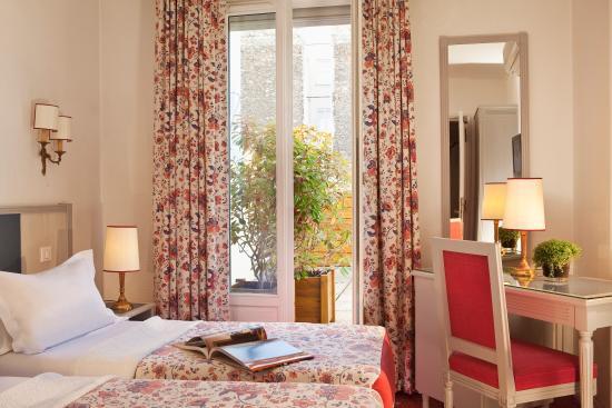 Hotel Jardins d'Eiffel: twin room